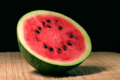 Full view of fresh water melon Stock Images