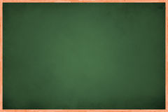 Full View of Green Board Royalty Free Stock Image