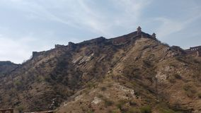 Full view of jaigarh  fort Stock Photo