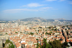 The full view of Marseille Stock Image