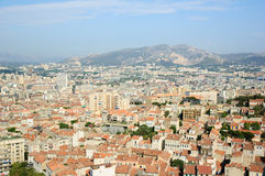 The full view of Marseille Royalty Free Stock Image