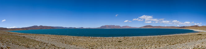 Full Views of Lake Rakshastal: Travelling in Tibet Stock Photos