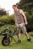 Full Wheelbarrow Royalty Free Stock Images