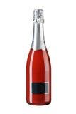 Full wine bottle isolated on white Royalty Free Stock Photo