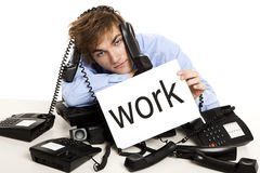 Full of work Stock Photos