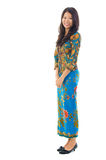 Fullbody Azji Południowo Wschodniej kobieta Zdjęcia Stock