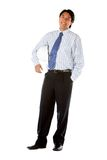 Fullbody business engineer Stock Photos