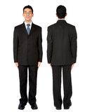 Fullbody business man Stock Image