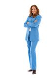 Fullbody business woman Royalty Free Stock Images