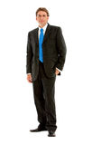Fullbody businessman Stock Images