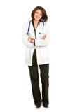 Fullbody female doctor Royalty Free Stock Photography
