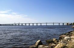 Fuller Warren Bridge over the St. John's River Stock Photo