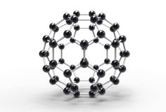 Fullerene molecule Royalty Free Stock Photography