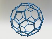 Fullerene C60 Molecule Stock Photography