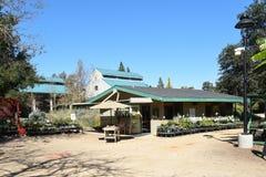 Fullerton-Arboretum Potting-Halle Lizenzfreie Stockfotografie