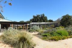 Fullerton-Arboretum Potting-Halle Lizenzfreie Stockbilder