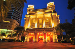 Fullerton Hotel Stock Photography