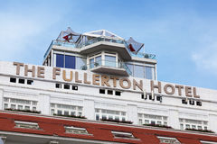 The Fullerton Hotel Royalty Free Stock Image