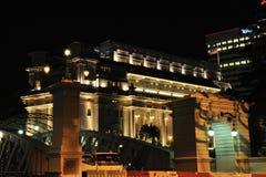 Fullerton Hotel Stock Images