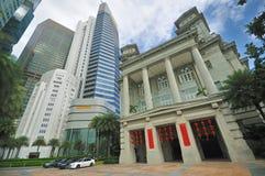 Fullerton Hotel, Singapore Stock Images