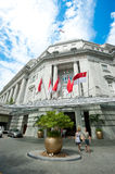 The Fullerton Hotel Singapore Royalty Free Stock Photography