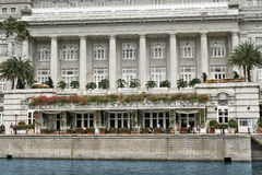 The Fullerton Hotel, Singapore Stock Photos