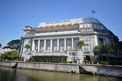 Fullerton hotell i Singapore Fotografering för Bildbyråer