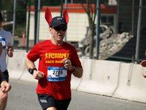 fullföljandemaraton vancouver Fotografering för Bildbyråer