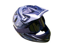 Fullface bike helmet Royalty Free Stock Photography
