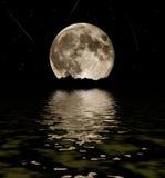 fullmåne Fotografering för Bildbyråer