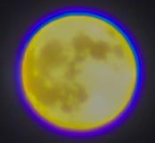 Fullmåne närmast höstdagjämningen Arkivbilder