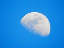 Fullmåne och härlig himmel Arkivfoton