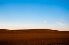 Fullmåne på dagsljuset Royaltyfri Bild