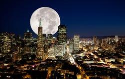 fullmåne Royaltyfri Bild