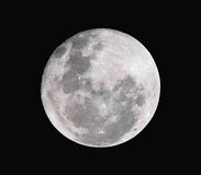 Fullmoon. Close up & Texture Of Full moon Royalty Free Stock Images