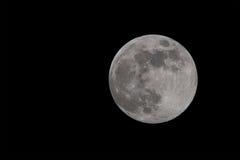 Fullmoon full moon april in night dark shining bright Royalty Free Stock Photo