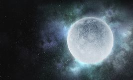 It is fullmoon Royalty Free Stock Photo