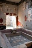 Fullonica στη archeological περιοχή της Πομπηίας Στοκ Εικόνες