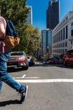 Fullsatta Union Square i San Francisco Royaltyfri Fotografi
