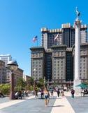 Fullsatta Union Square i San Francisco Royaltyfria Bilder