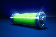 Fullt alkaliskt batteri Arkivbilder