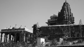 Fullt Viwe - Kumbhalgarh fort Royaltyfri Fotografi