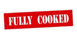Fully cooked Royalty Free Stock Photography
