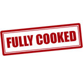 Fully cooked Royalty Free Stock Images
