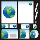 Fully editable vector business templates set ready Stock Photography