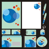 Fully editable vector business templates set ready Royalty Free Stock Image