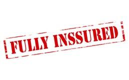 Fully insured Stock Photo