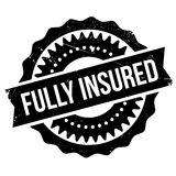 Fully insured stamp Stock Photos