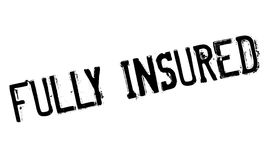 Fully insured stamp Royalty Free Stock Photography