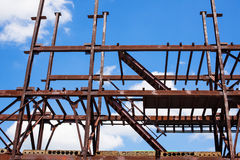 Fully iron construction. With stairs Stock Photography